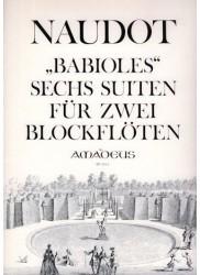 Babioles, Six suites Op. 10