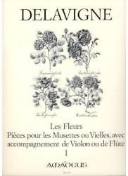 Les Fleurs Op.4  Vol. 1
