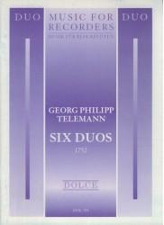 Six Duos (1752)