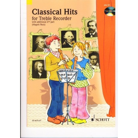 Classical Hits for Treble with additional 2nd Part (Eng)