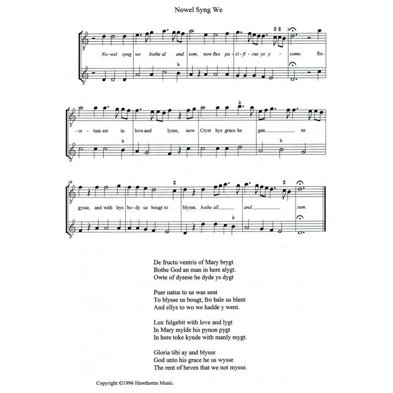 Christmas Carol Music.Mediaeval Christmas Carols