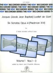 Six Sonatas Op. 4 Vol. 1 nos. 1-3