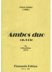 Ambos duo Op. 143e