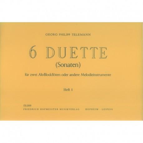 Six Duette: Book 1