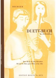Duett-buch, Duet Book for Alto Recorders Vol. 2