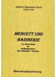 Menuett und Badinerie from Orchestral Suite No. 2  BWV 1067