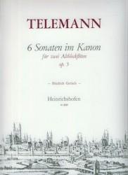 6 Canonic Sonatas Op. 5