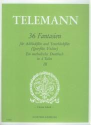 36 Fantasias Volume 3