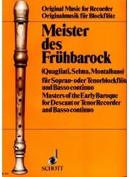 Meister des Fruhbarock