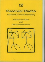 12 Recorder Duets