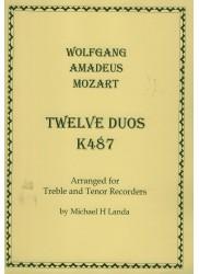 Twelve Duos K487