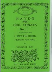 Duo Sonata No 1