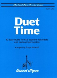 Duet Time, Book One: 10 Easy Duets