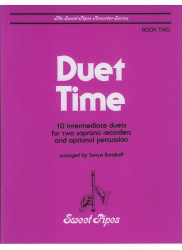 Duet Time, Book Two: 10 Intermediate duets