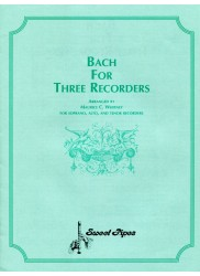 Bach For Three Recorders