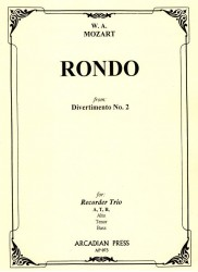 Rondo from Divertimento no 2