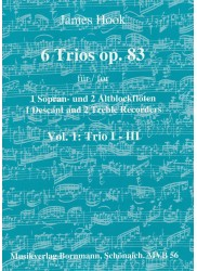 6 Trios (Op 83): Vol 1