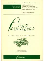 Sei Sonata a Tre o Due Violini, o Due Flauti Traversieri e Basso Per il Cembalo, Opera Quinta 1736