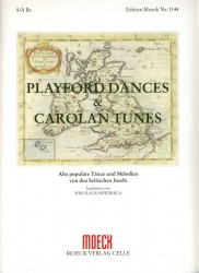 Playford Dances and Carolan Tunes: Old Popular Dances and Melodies from the British Isles