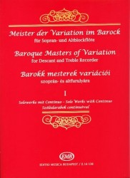 Baroque Masters of Variation