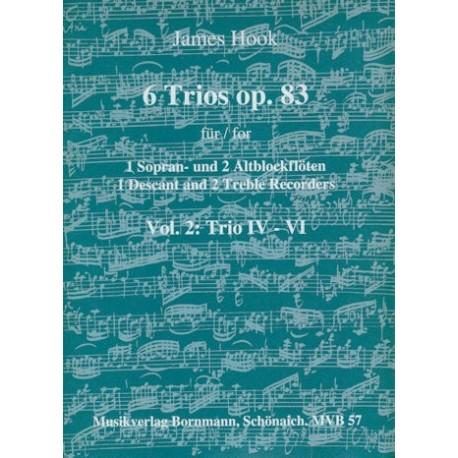 6 Trios (Op. 83): Vol. 2