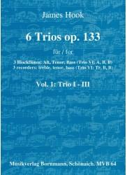 6 Trios Op 133 Vol 1