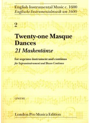Twenty-one Masque Dances