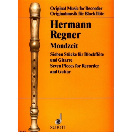 Moon Time [Mondzeit]: 7 pieces for recorder and guitar