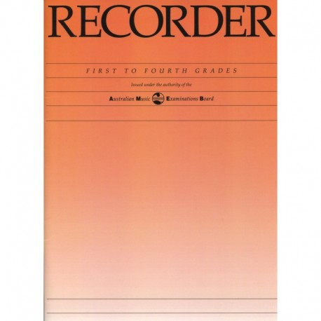 Recorder Grade Book First to Fourth Grades