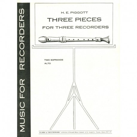 Three Pieces for Three Recorders