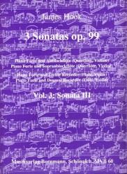 3 Sonatas (Op 99): Vol 3, Sonata 3