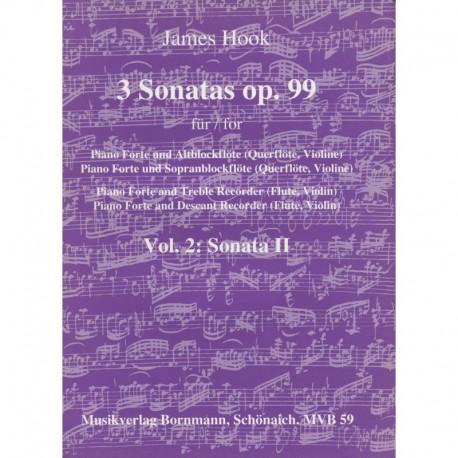 3 Sonatas (Op 99): Vol 2, Sonata 2