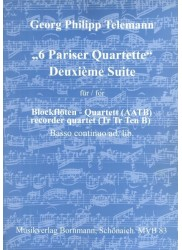 Paris Quartet Deuxieme Suite
