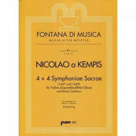 4 +4 Symphoniae Sacrae