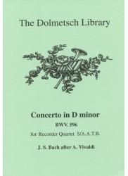 Concerto in d minor BWV596