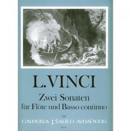 Two Sonatas for Flute and Basso Continuo