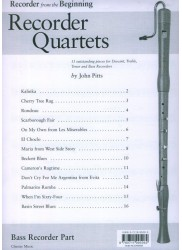 Recorder from the Beginning: Recorder Quartets Parts Pack