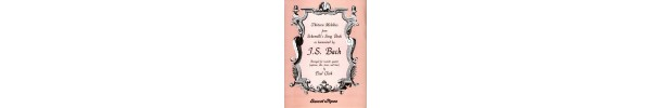 Thirteen Melodies From Schemelli's Song Book as harmonised by JS Bach
