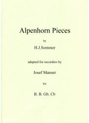 Alpenhorn Pieces