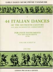 44 Italian Dances Vol III