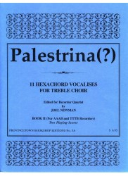11 Hexachord Vocalises, Book II