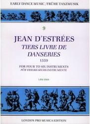 Tiers Livre de Danseries (1559)