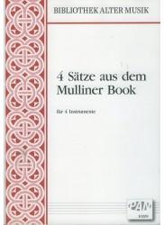 4 Satze aus dem Mulliner Book