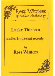 Lucky Thirteen: Studies for Descant Recorder