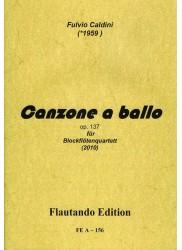 Canzone a ballo Op 137