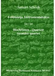 4-stimmige Instrumentalsatze