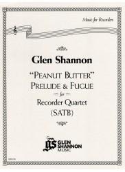 """Peanut Butter"" Prelude & Fugue for Recorder Quartet"