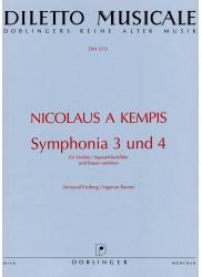 Symphonia 3 und 4