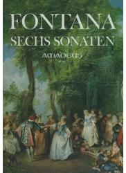 Six Sonatas for Violin or Recorder and Basso Continuo