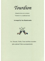 Tourdion, Variations on a traditional tune
